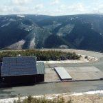 Nejvýše položená fotovoltaická elektrárna v Česku