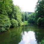 Skalnatým údolím Rosošného potoka na Tesák