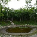 Posvátný mystický kráter na estonské Saaremě