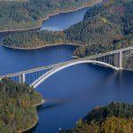Největší jednoobloukový most bez táhla na světě