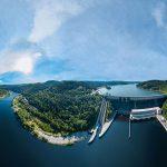 Nejhlubší a nejvodnatější přehrada