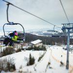 Ve středních Čechách se lyžuje