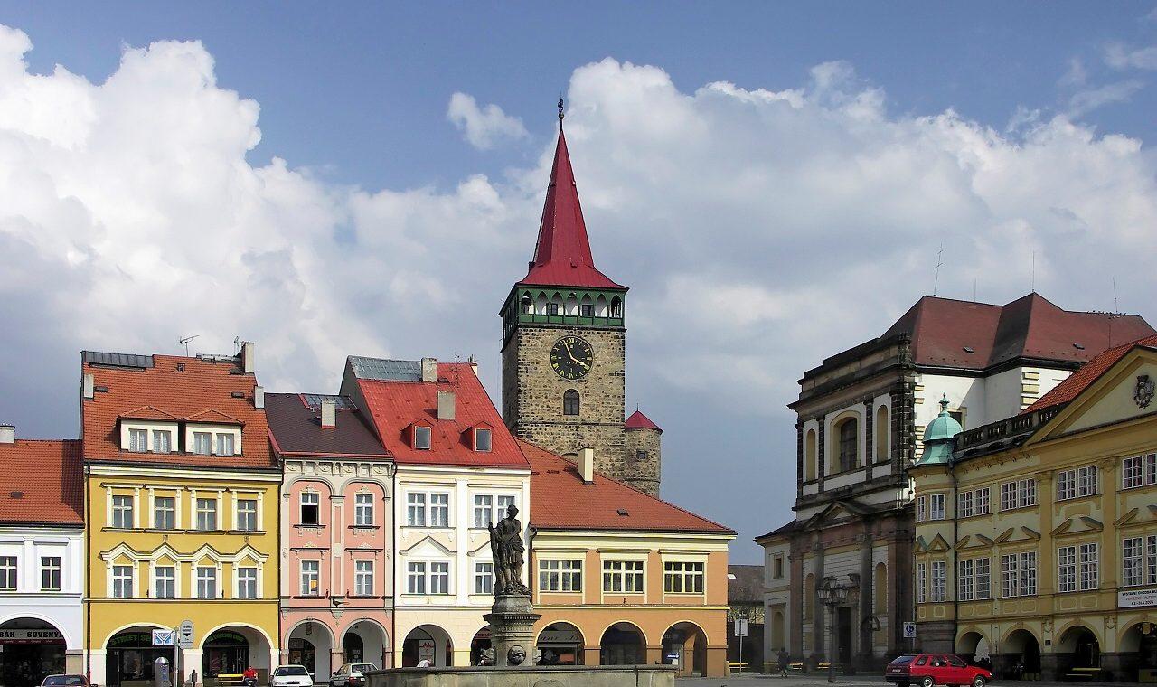 Czechia, Jicin, Wallenstein's square