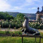 Léto se sochami na zámku Děčín