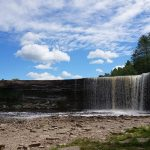 Chodící Niagarský vodopád v Estonsku