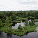 Kouzelné panorama krasových jezer na severu Litvy