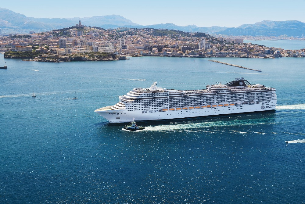 Francie - Marseille - MSC Divina