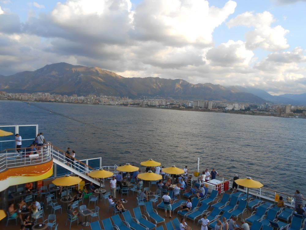 Palermo, vyplouváme