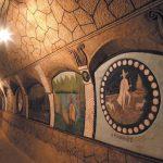 Nádherný malovaný sklep a sklepní labyrint vŠatově stojí za návštěvu
