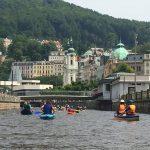 Projeďte se po vodě napříč Karlovými Vary!